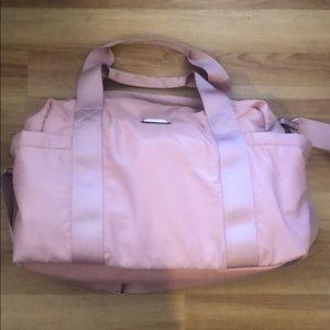 New Steve Madden rose pink soft weekend duffle